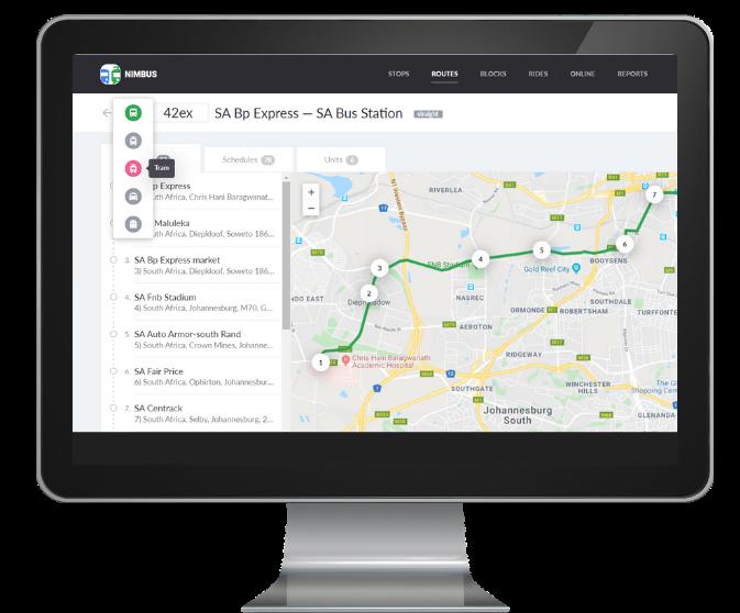 Routes management