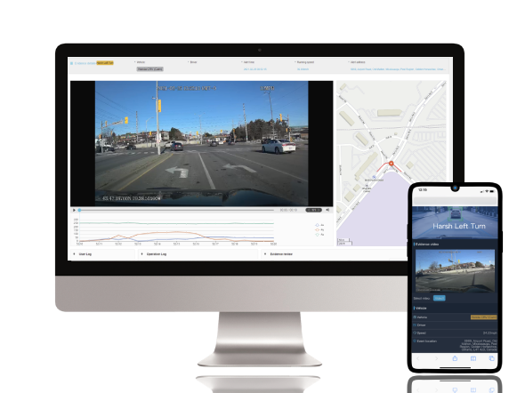 dash cams desktop & mobile